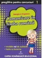 Culegere pregatire pentru concursuri. Comunicare in limba romana pentru clasa I