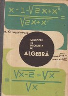 Culegere probleme algebra pentru licee