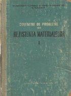 Culegere de probleme din rezistenta materialelor, Volumul I