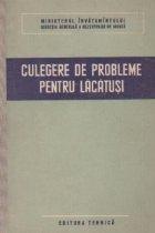 Culegere de probleme pentru lacatusi