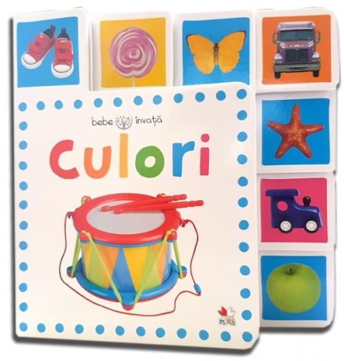 Culori. Bebe învață