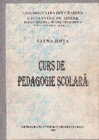 Curs de Pedagogie Scolara (Elena Joita)