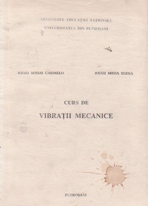 Curs de vibratii mecanice