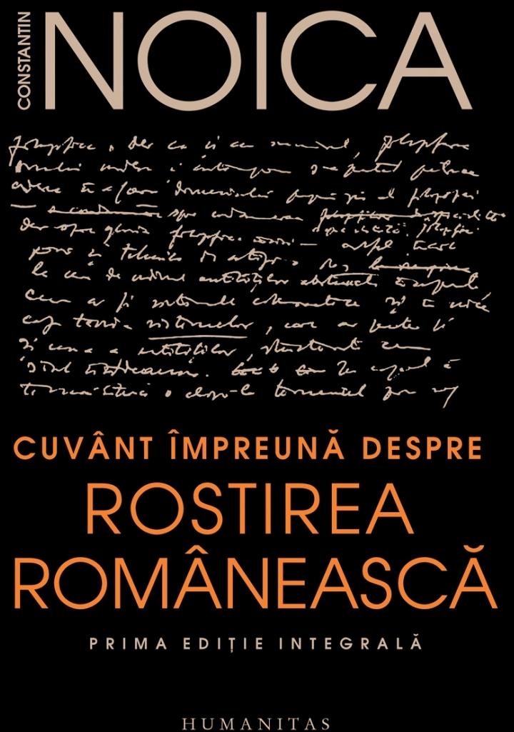 Cuvânt împreună despre rostirea românească