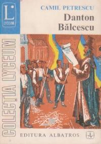 Danton, Balcescu - Teatru, Volumul al III-lea