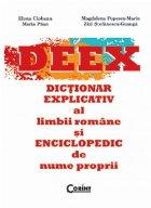 DEEX Dictionar explicativ limbii romane
