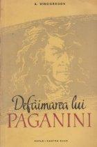 Defaimarea lui Paganini
