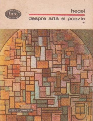 Despre arta si poezie, Volumul I