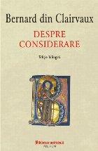 Despre considerare (ediţie bilingvă)
