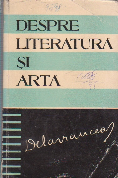 Despre Literatura si Arta