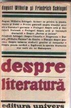 Despre literatura