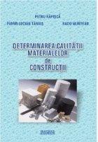 Determinarea calitatii materialelor constructii