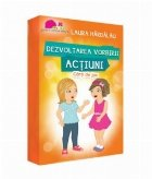 Dezvoltarea vorbirii - Actiuni (carti de joc)