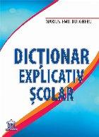 Dicționar Explicativ Școlar