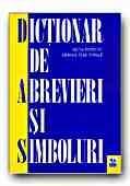 DICTIONAR DE ABREVIERI SI SIMBOLURI