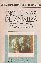 Dictionar de analiza politica