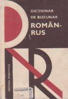 Dictionar de buzunar roman-rus (18 000 cuvinte)