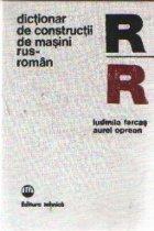 Dictionar de constructii de masini rus - roman