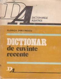 Dictionar de cuvinte recente