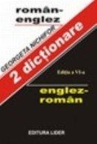 DICTIONAR ENGLEZ - ROMAN / ROMAN - ENGLEZ