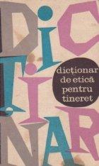 Dictionar de etica pentru tineret