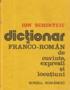 Dictionar franco-roman de cuvinte, expresii si locutiuni