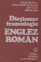 Dictionar frazeologic englez - roman