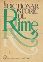 Dictionar istoric de rime (Dosoftei-Arghezi)