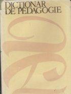 Dictionar de Pedagogie (Editie 1979)