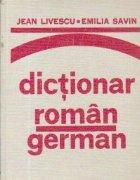 Dictionar roman-german (pentru uzul elevilor)
