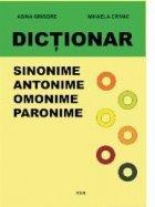 Dictionar sinonime antonime omonime paronime