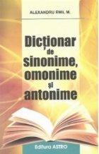 Dictionar de sinonime, omonime si antonime