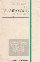 Dictionar de terminologie literara (Emil Boldan)