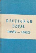 Dictionar uzual roman-englez
