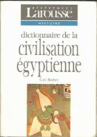 Dictionnaire de la Civilisation Egyptenne