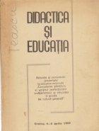 Didactica Educatia