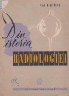 Din istoria radiologiei