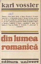 Din Lumea Romanica - Culegere de eseuri
