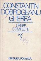C. Dobrogeanu Gherea - Opere Complete, Volumul al III-lea