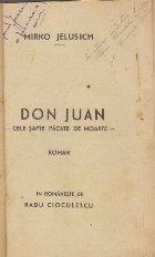 Don Juan - Cele sapte pacate de moarte