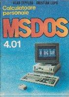 MS DOS 4.01