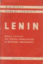 Doua tactici ale social democratiei