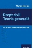 Drept civil Teoria generala Vol