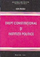 Drept constitutional si institutii politice - note de curs -