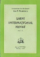 Drept International Privat, Volumul al II-lea