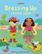 Dressing up sticker book