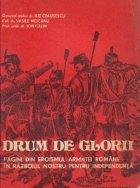 Drum de glorii - pagini din eroismul armatei romane in razboiul nostru pentru independenta