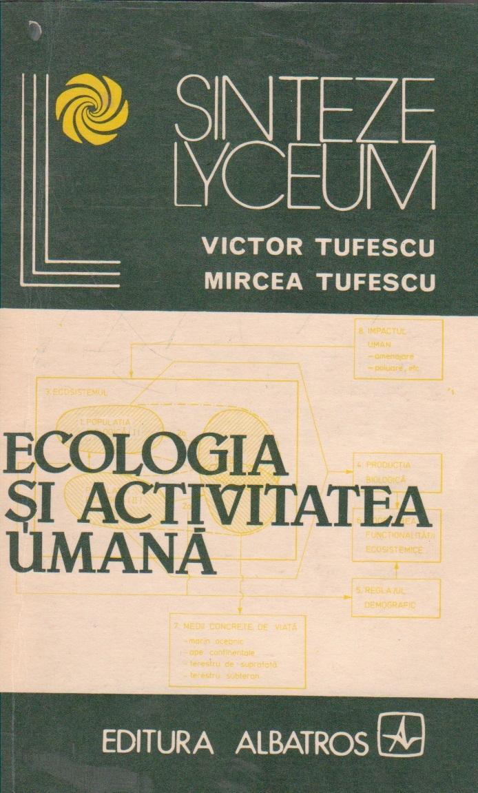 Ecologia si activitatea umana