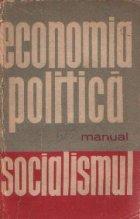 Economia politica, Manual - Socialismul