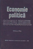 Economia politica a socialismului, Editia a IV-a revazuta si completata